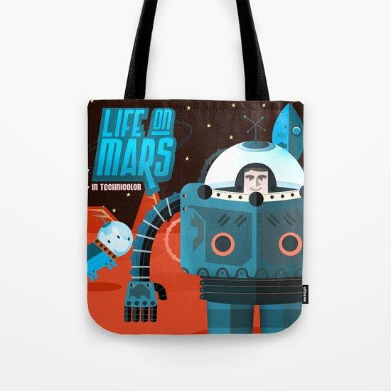 Life on mars Tote Bag