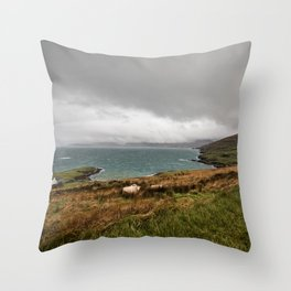 Beara Peninsula, Cork, Ireland Throw Pillow