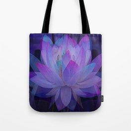 The Lotus in blue... Tote Bag