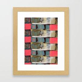 pink dots no2 Framed Art Print