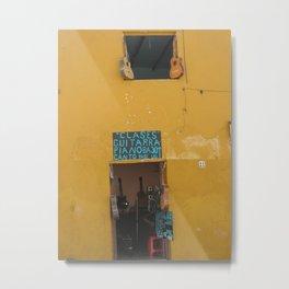 Door No. 17 in Guanajuato, Mexico (2005) Metal Print