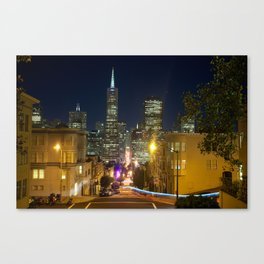 Montgomery by night Canvas Print