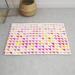 fete triangle pattern Rug