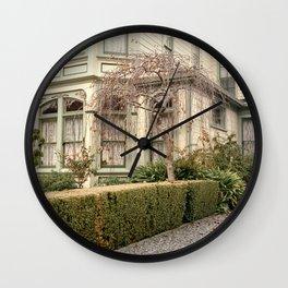 Tree in Ferndale Wall Clock
