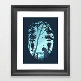 Lonely Spirit Spirited Away Framed Art Print