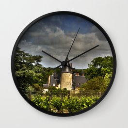 Château de Tracy, France Wall Clock