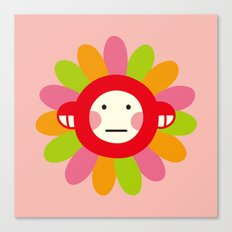 Redmon Flower Canvas Print