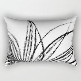 Plume- A Feather Study 1 Rectangular Pillow