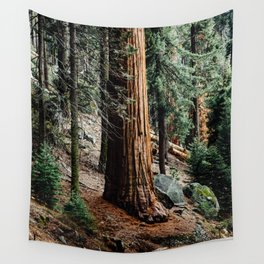 giant sequoia i Wall Tapestry