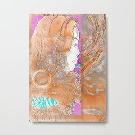 Nail Girl Metal Print