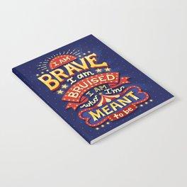 I Am Brave Notebook