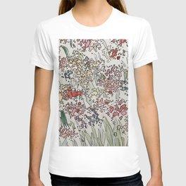 Rainbow Flourish Garden T-shirt