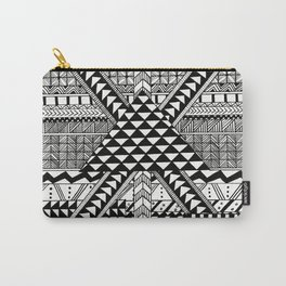 Geometric X Carry-All Pouch