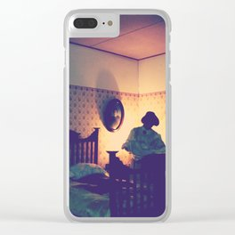Mother Dearest Clear iPhone Case