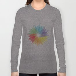 colorful lady Long Sleeve T-shirt