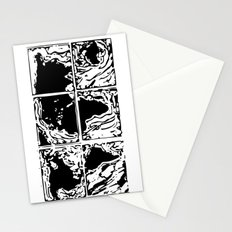 Monotype Map (White) Stationery Cards