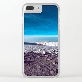 Tanzania Clear iPhone Case