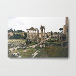 Roman Forum - Landscape Metal Print