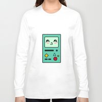 bmo Long Sleeve T-shirts featuring BMO by Janice Wong