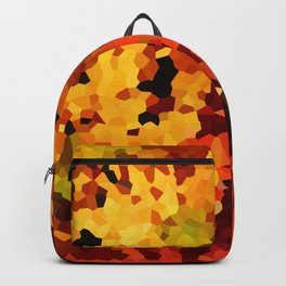 Yellow and Red Sunflowers Backpack
