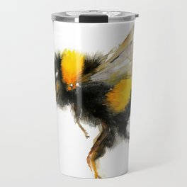 Yellow Bumble Bee Travel Mug
