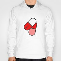 pills Hoodies featuring Payne Pills by PAUSE