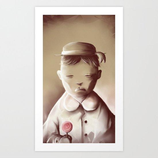 The Orphan Art Print