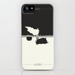 Day Versus Night iPhone Case