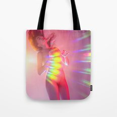 Valentine Rainbow Lover Tote Bag