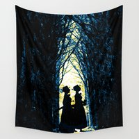 wonderland Wall Tapestries featuring Wonderland by Design4u Studio