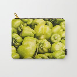Lots of green peppers Carry-All Pouch