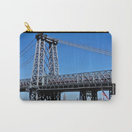 Williamsburg Bridge view Carry-All Pouch