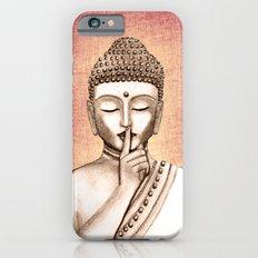 Buddha Shh.. Do not disturb - Colored version iPhone 6 Slim Case