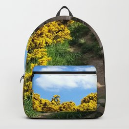 Edinburgh Scotland Sunflower Path-United Kingdom Backpack