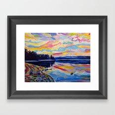 The Denman Sunrise Framed Art Print