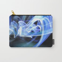 (Mostly) Blue Light Painting Carry-All Pouch