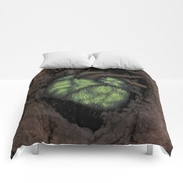 Heart Of The Forest Comforters