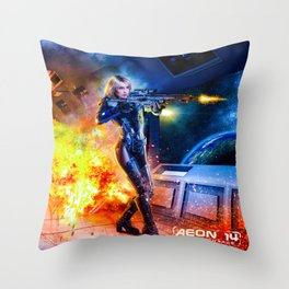 Tanis Richards - Outsystem Throw Pillow