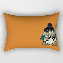 Harold The Penguin.Halloween character Rectangular Pillow