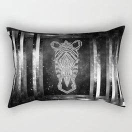 Galaxy Zebra Rectangular Pillow