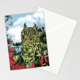 Lay of the land, Color version  Stationery Cards