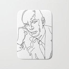 Vladimir Nabokov Bath Mat