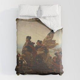 Washington Crossing the Delaware Comforters