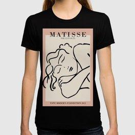 Henri matisse sleeping woman, matisse cut outs, cream and pink T-shirt