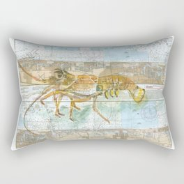 Red Lobster Rectangular Pillow