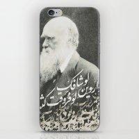 darwin iPhone & iPod Skins featuring Darwin by Warsheh