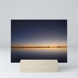 Sunrise Salar de Uyuni 1 - Bolivia - Landscape and Rural Art Photography Mini Art Print