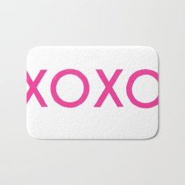 XOXO [Pink] Bath Mat