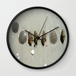 In the Sand Wall Clock