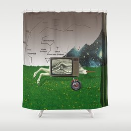 atmosphere · crux Shower Curtain